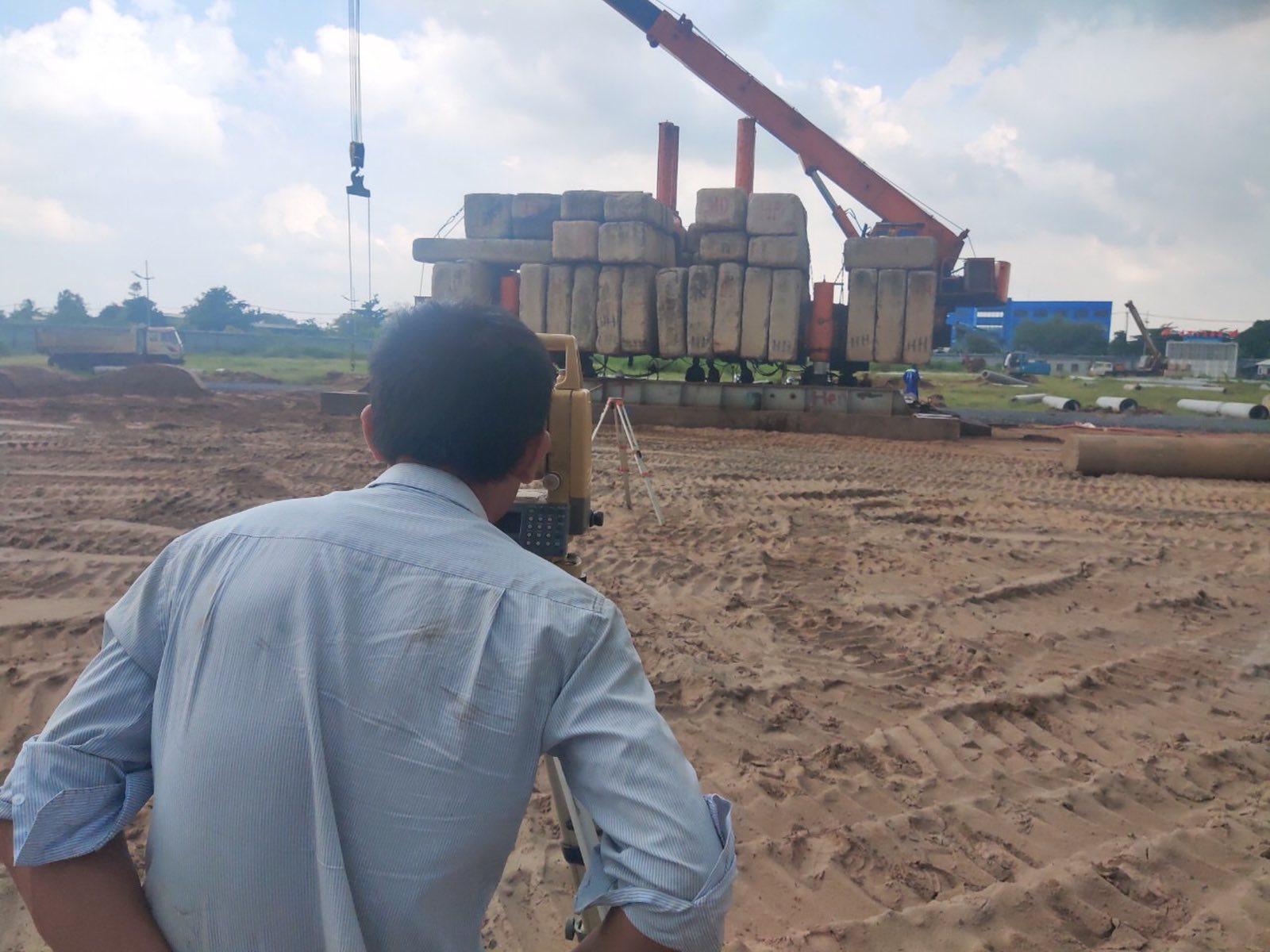 CĐT đang đẩy nhanh thi công phần móng cọc cho toàn dự án Westgate