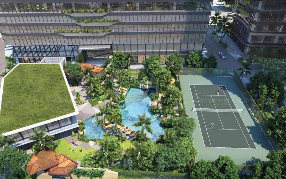 Phối cảnh công viên xanh dự án căn hộ Lumiere Quận 2 Thảo Điền