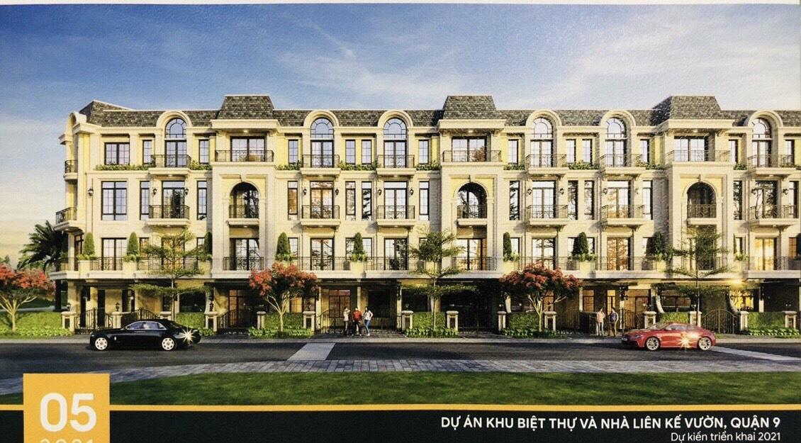 Mẫu nhà dự án biệt thự nhà phố Armena Khang Điền Quận 9 Võ Chí Công.