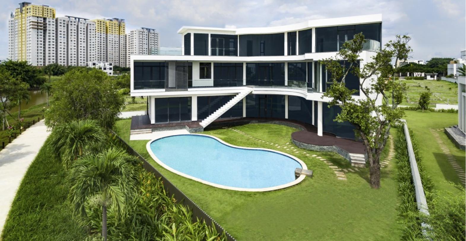 Căn Biệt Thự Đơn Lập Có Hồ Bơi Riêng Lucasta Quận 9 Khang Điền