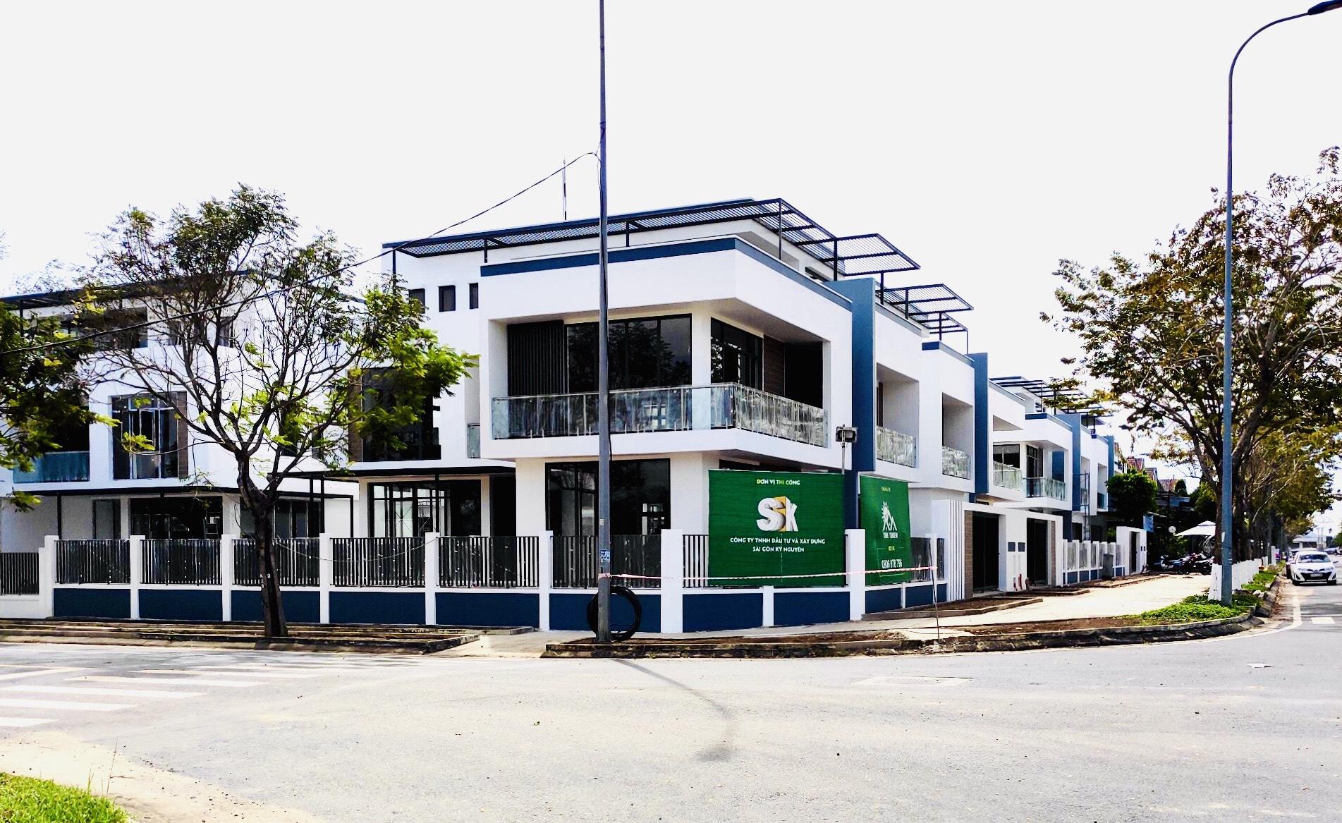 Mẫu nhà thực tế khu biệt thự Đông Tăng Long Quận 9