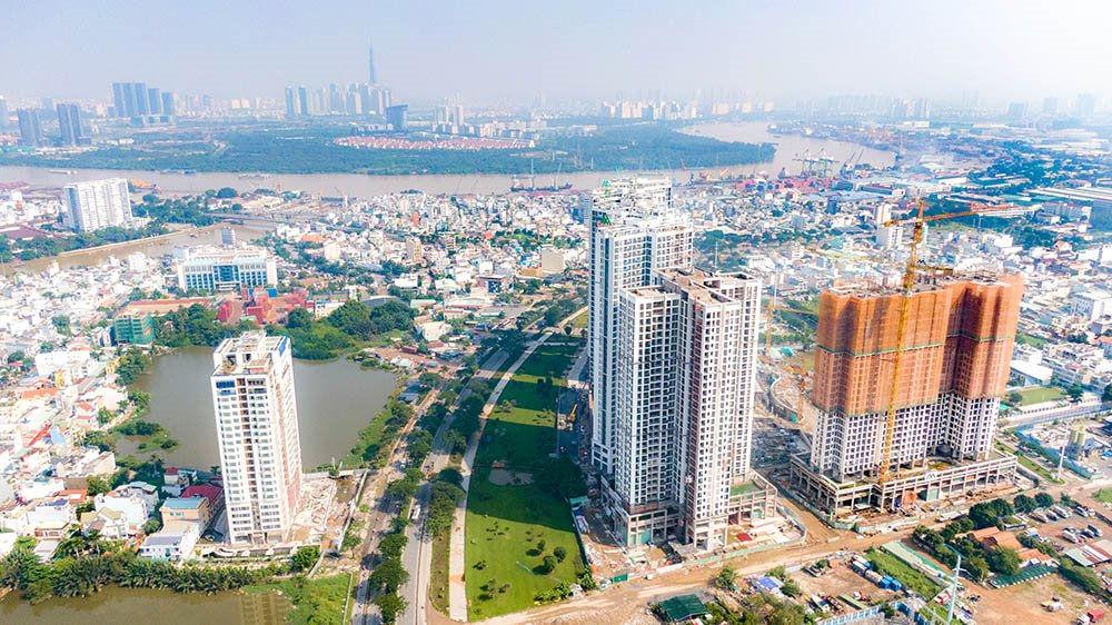 Cập nhật tiến độ dự án Eco Green Saigon tháng 12