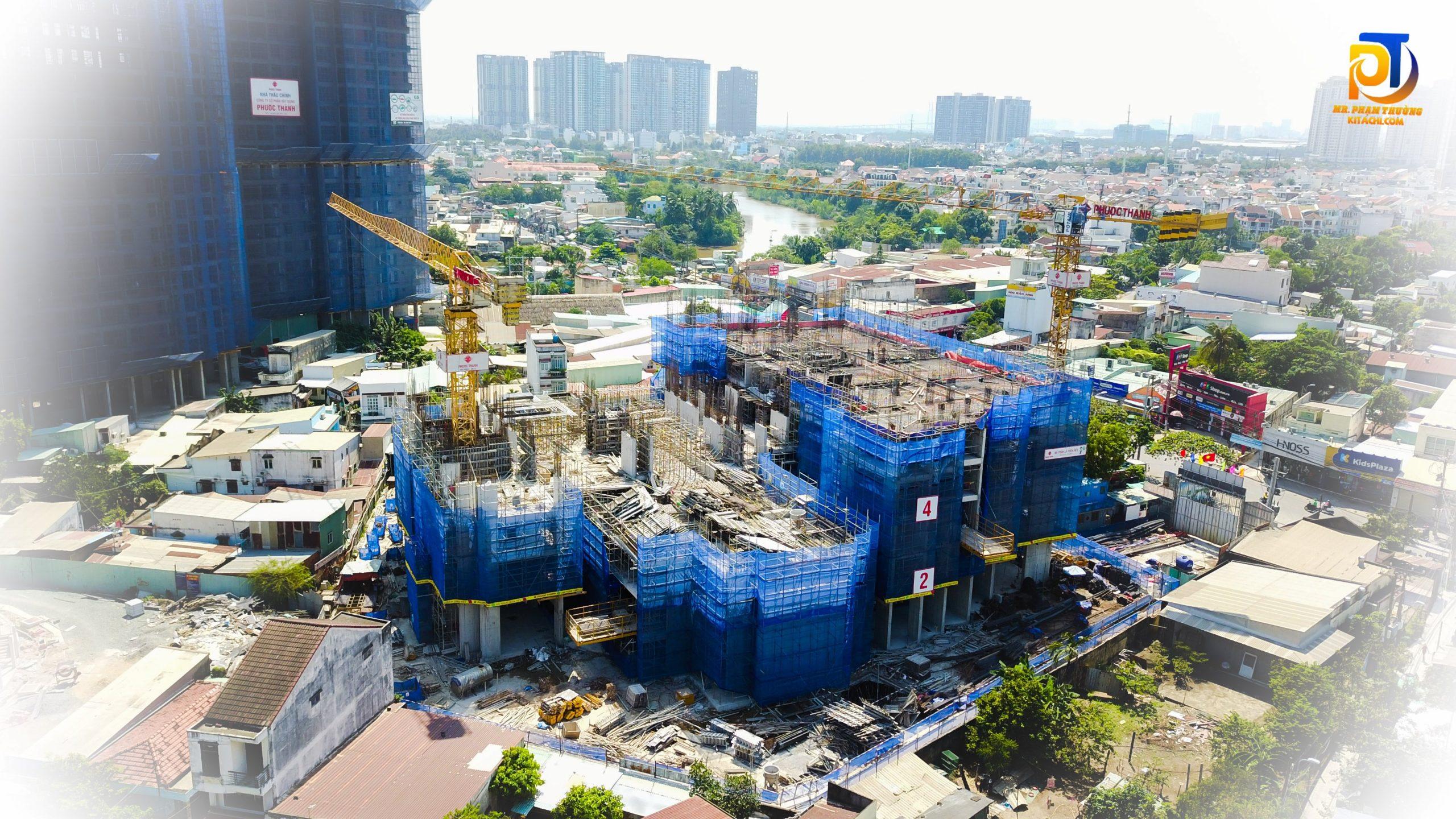 Tiến độ cập nhật dự án căn hộ Precia Quận 2 Điền Phúc Thành