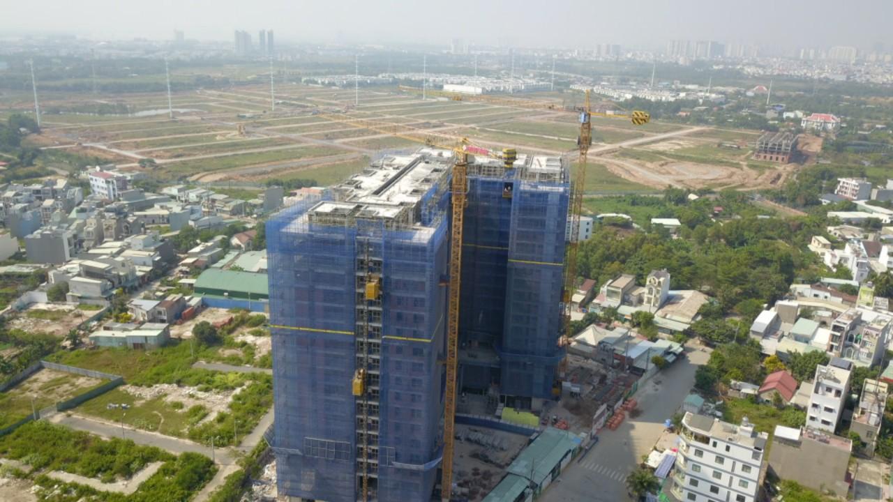 Tiến độ thi công cập nhật mới nhất dự án Ricca Quận 9 Điền Phúc Thành