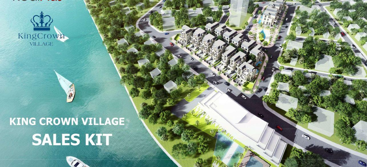Phối cảnh dự án King Crown Village