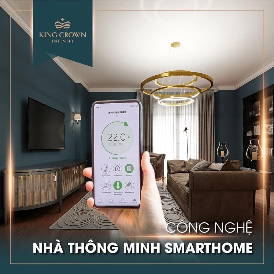 Công nghệ thông minh cho căn hộ King Crown Infinity Thành phố mới Thủ Đức
