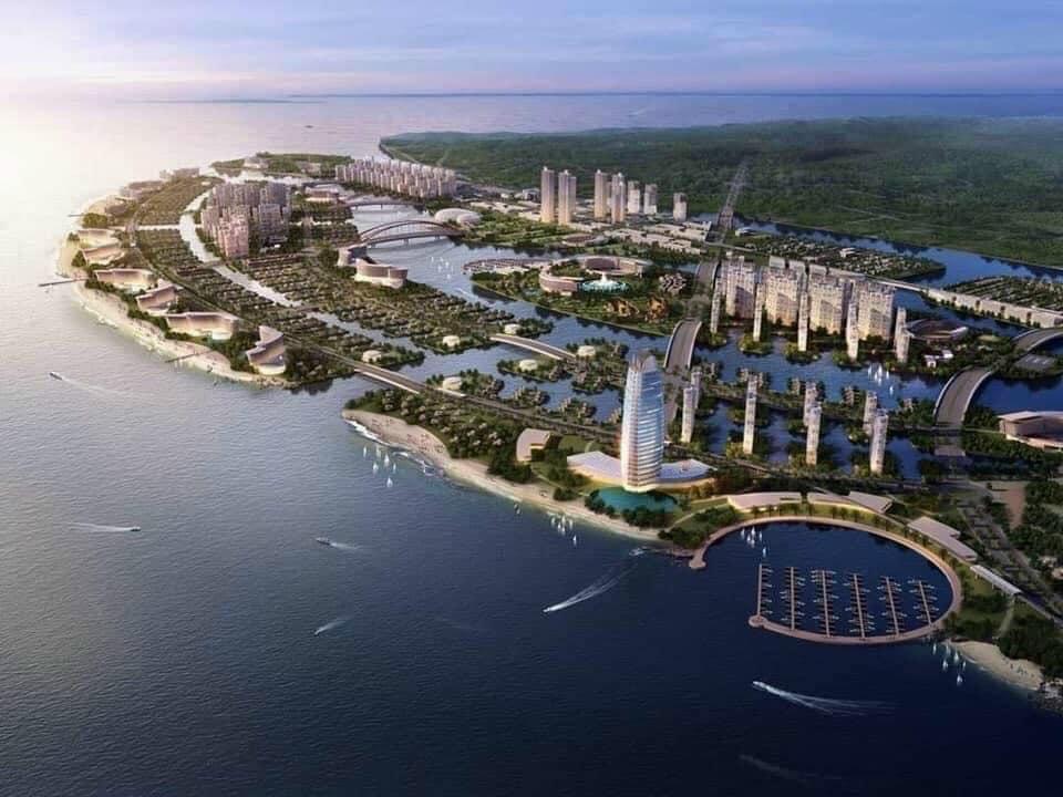 Phối cảnh khi hình thành khu đô thị lấn biển Vinhomes Cần Giờ
