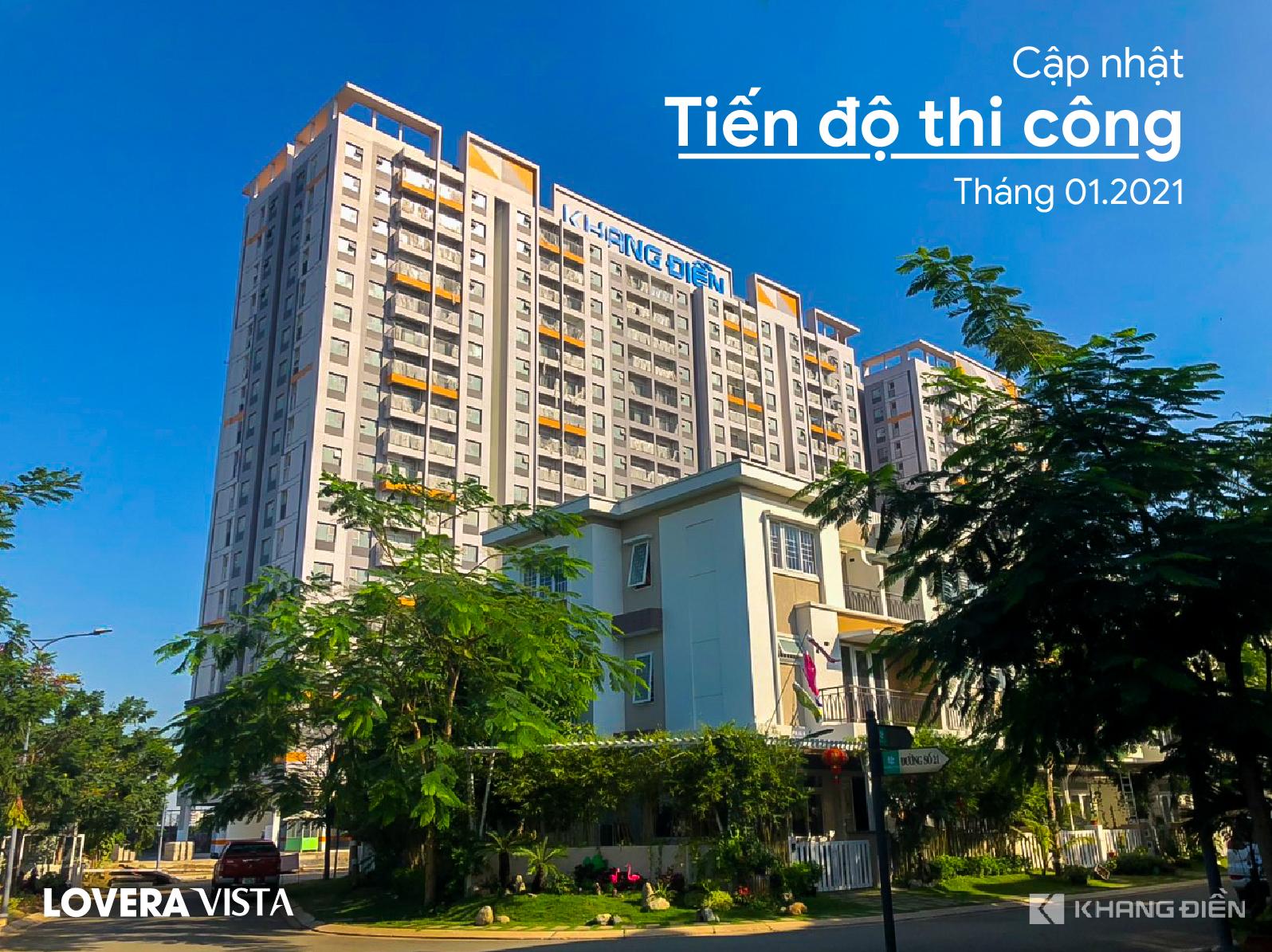 Tiến đô căn hộ Lovera Vista Khang Điền Bình Chánh