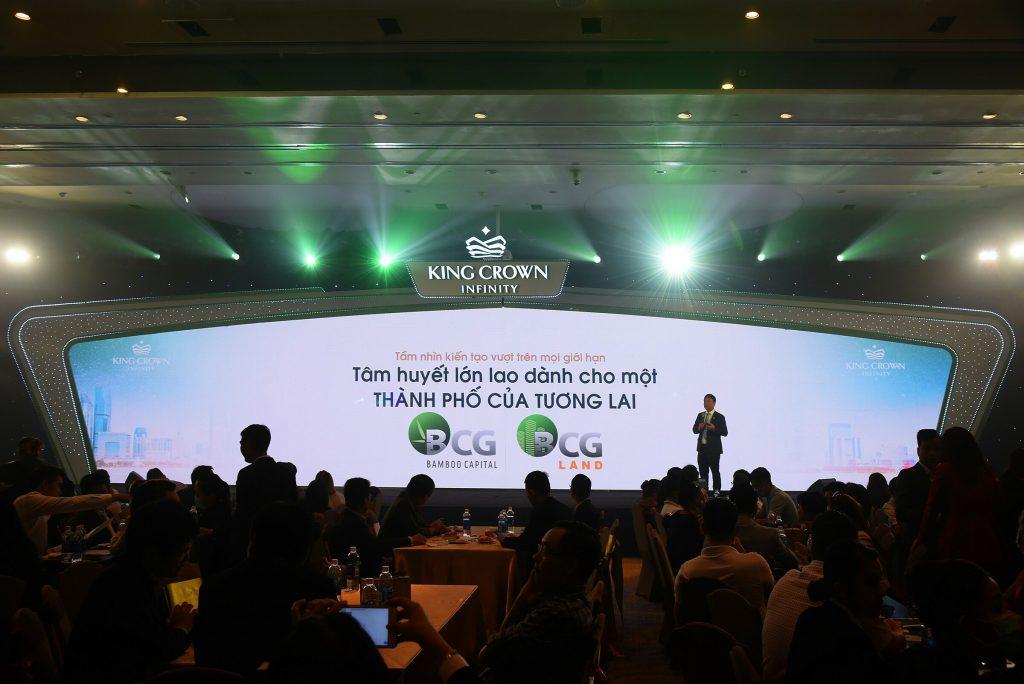 Vượt sóng Covid, King Crown Infinity thu hút giới đầu tư đầu năm 2021