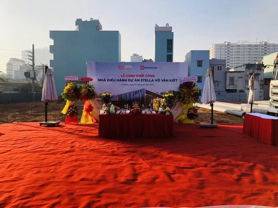Lễ khởi công Stella Võ Văn Kiệt