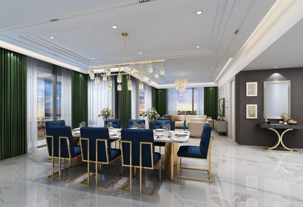 Căn hộ mẫu dự án Grand Marina Saigon Quận 1
