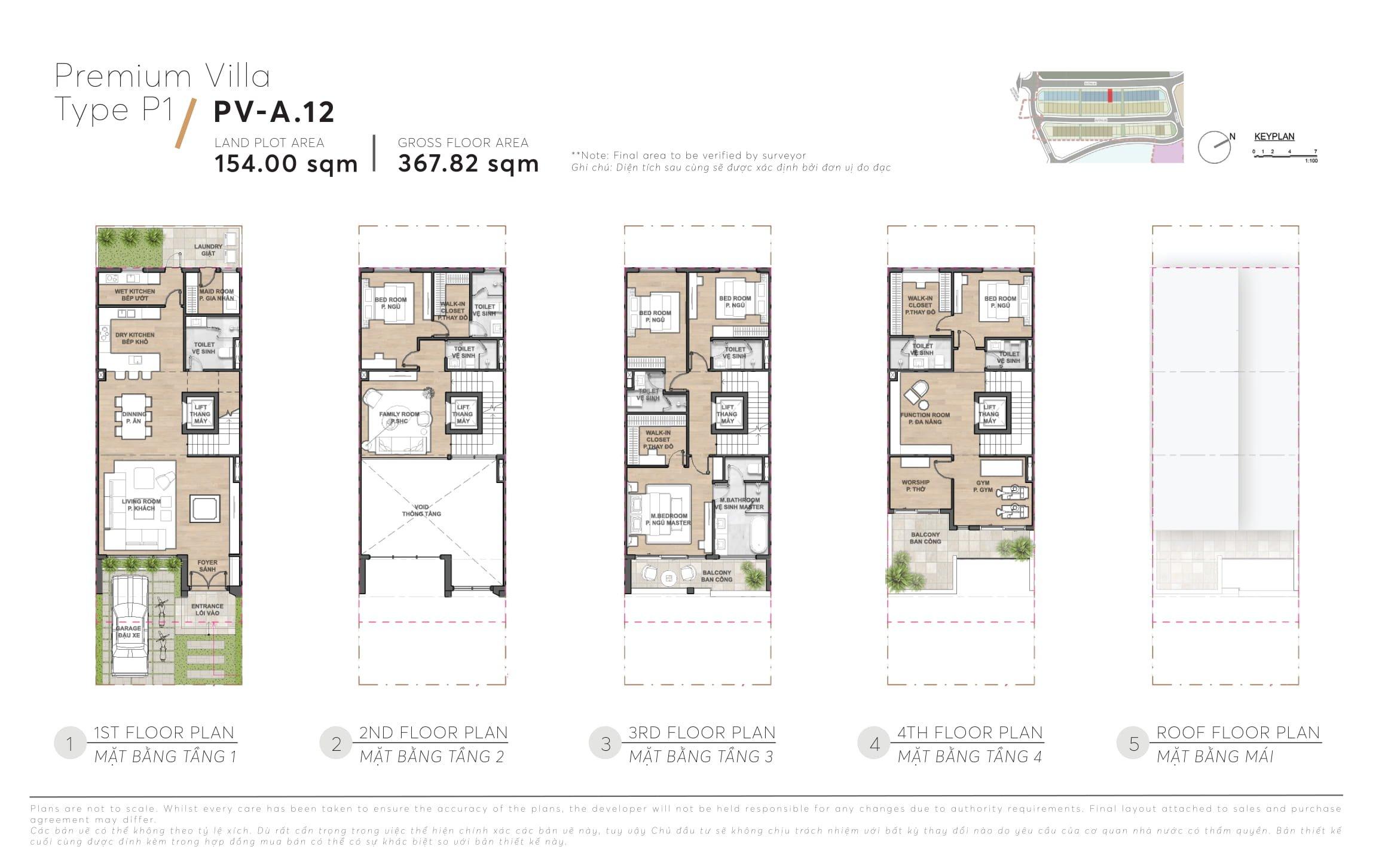Thiết kế mẫu nhà phố biệt thự The 9 Stellars Quận 9