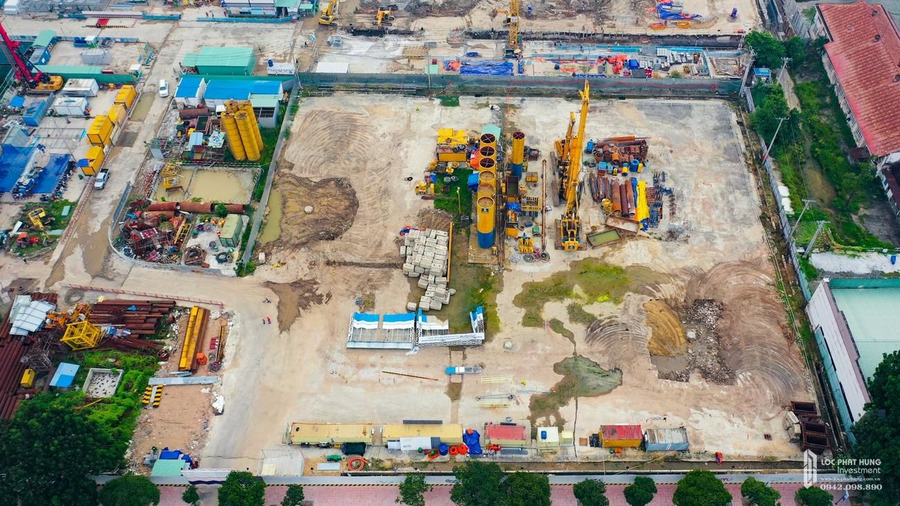 Tiến độ xây dựng dự án căn hộ chung cư Grand Marina Saigon Quận 1 của chủ đầu tư Masterise Group Đường Nguyễn Hữu Cảnh.