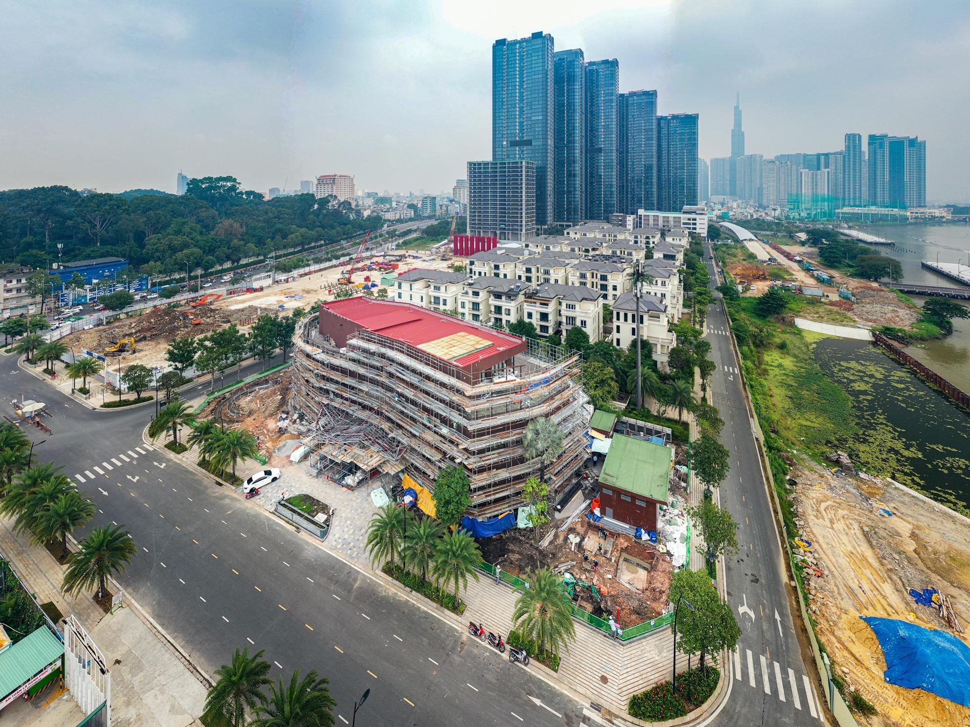 Tổng quan tiến độ xây dưng phần móng dự án căn hộ Grand Marina Saigon Quận 1