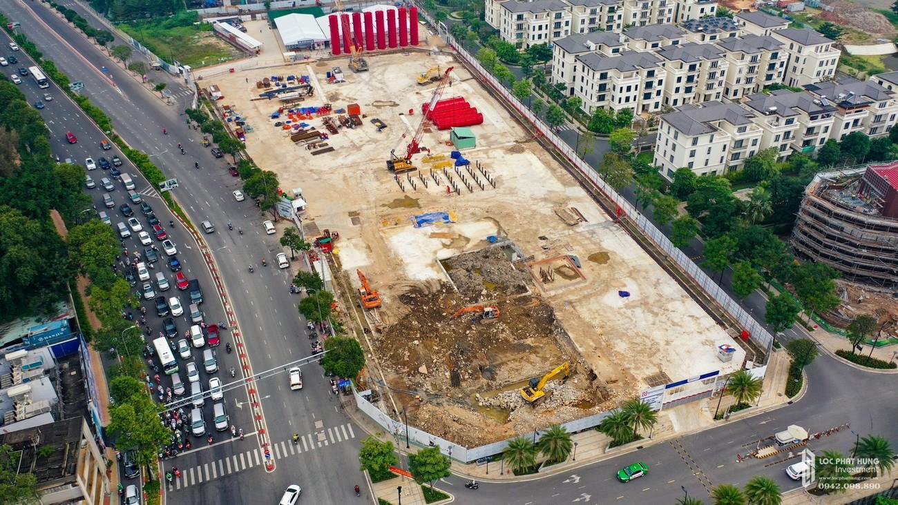 Tiến độ xây dựng dự án căn hộ chung cư Grand Marina Saigon Quận 1 Đường Nguyễn Hữu Cảnh giao Tôn Đức Thắng