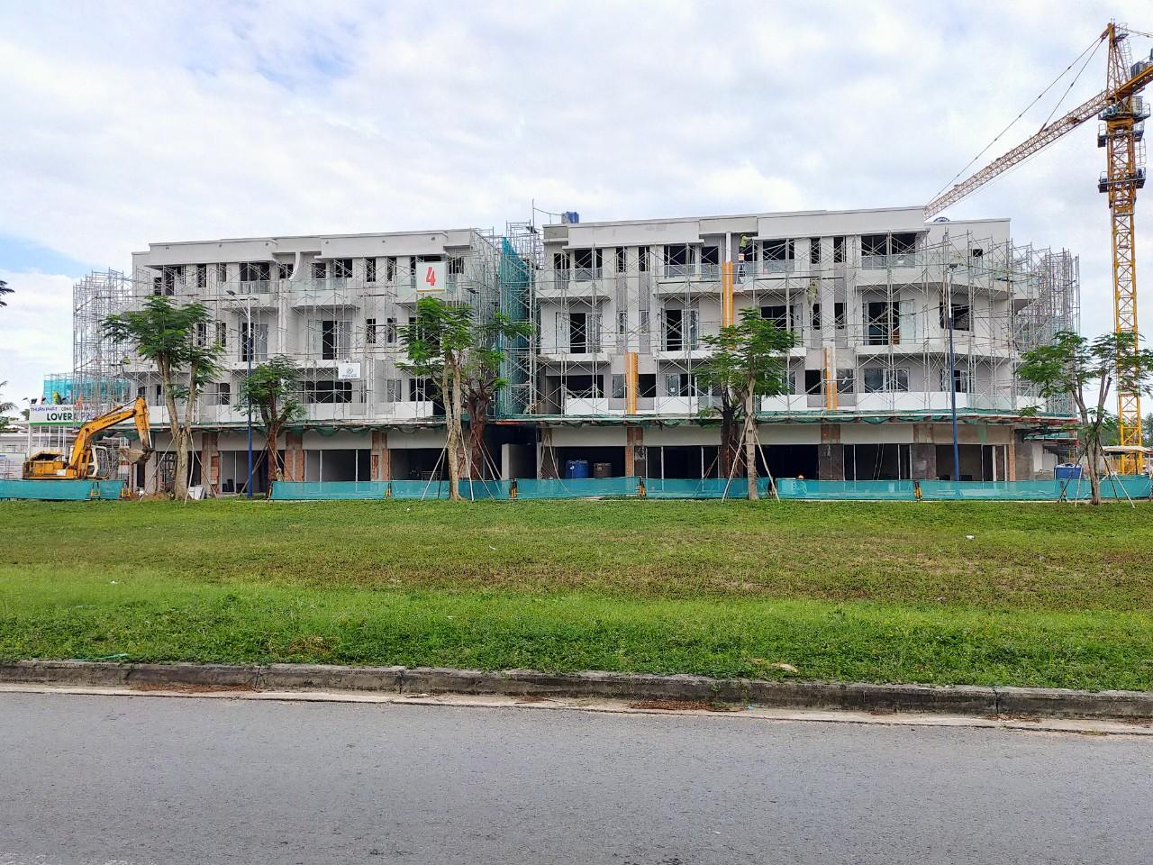 Tiến độ thần tốc của dự án nhà phố Lovera Premier Khang Điền Bình Chánh Phong Phú 4