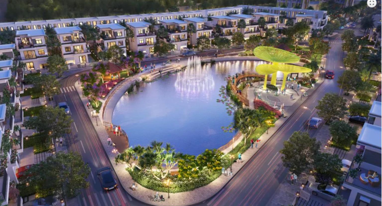 Phối cảnh tiện ích hồ cảnh quan Thăng Long Home căn hộ Dragon Sky View Thủ Đức Võ Văn Ngân