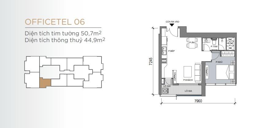 Thiết kế mẫu số 06 căn hộ Grand Marina Saigon Quận 1
