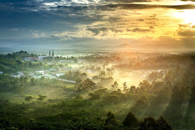 Đất Bảo Lộc Lâm Đồng Thơ Mộng và Yên Bình