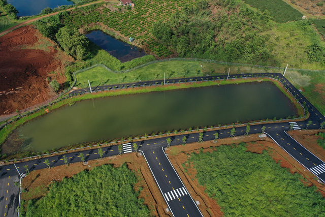 Một dự án đất nền Bảo Lộc Lâm Đồng đã hoàn thiện cơ sở hạ tầng chuẩn bị bàn giao cho khách hàng