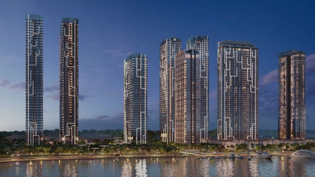 Phối cảnh tổng thể dự án Grand Marina Quận 1