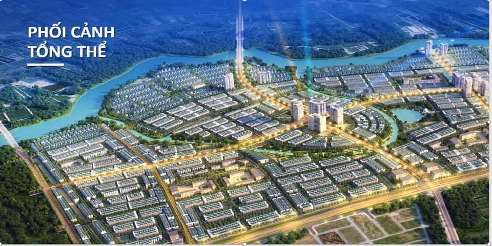 Phối cảnh tổng thể dự án nhà phố đất nền Millennia City Long Hậu T&T