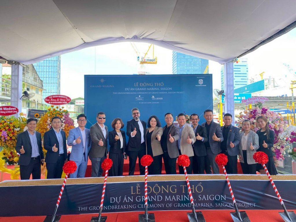 Lễ động thổ khởi công dự án Grand Marina Sài Gòn
