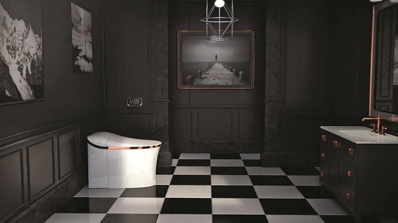 Nội thất bàn giao từ CĐT Masterise Homes khu vực phòng WC căn hộ