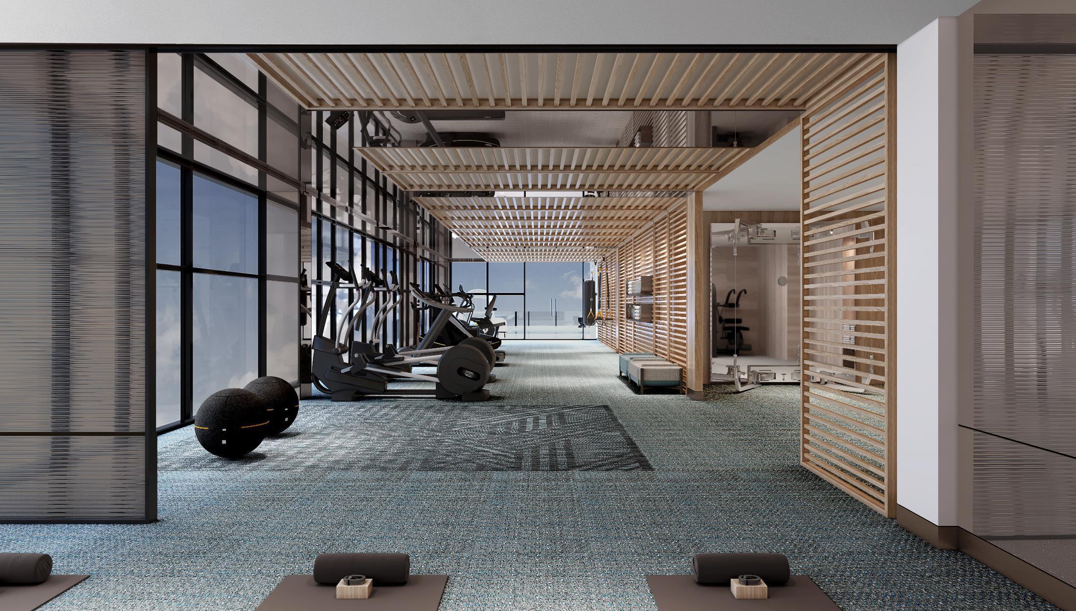 Phòng Gym sang trọng tại dự án căn hộ Grand Marina Sài Gòn Quận 1