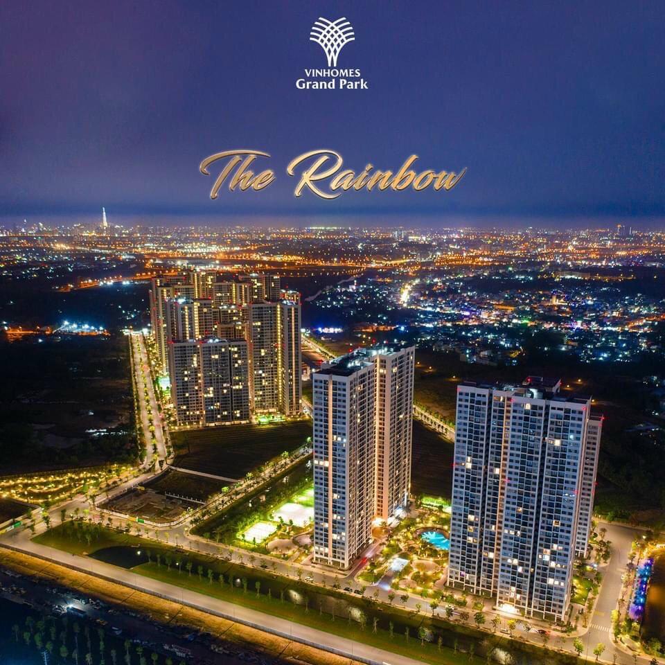 Hình ảnh thực tế dự án Vinhomes quận 9 phân khu căn hộ The Rainbow