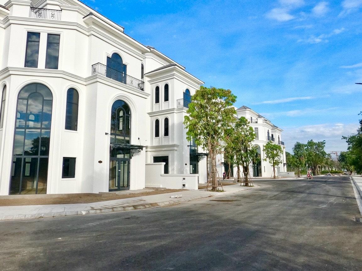 Tiến độ cập nhật mới nhất dự án nhà phố biệt thự The Manhattan Vinhomes Quận 9