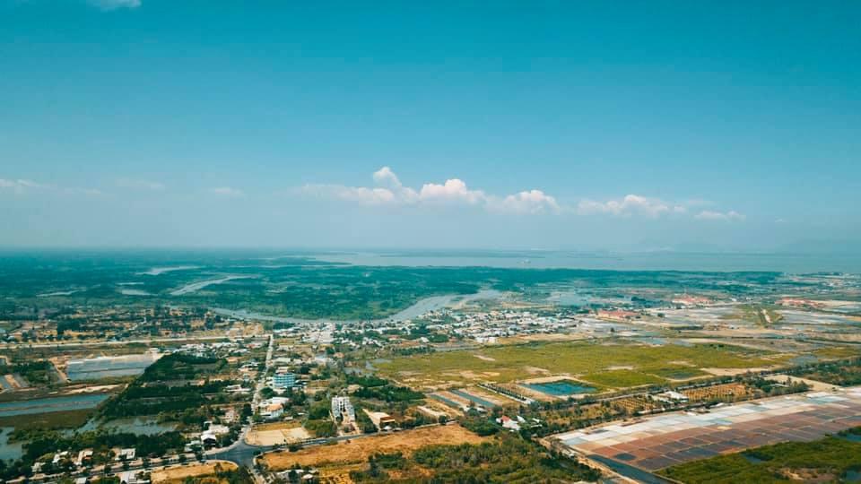 Cảnh quan thực tế khu vực dự án Vinhomes Cần Giờ sắp triển khai xây dựng
