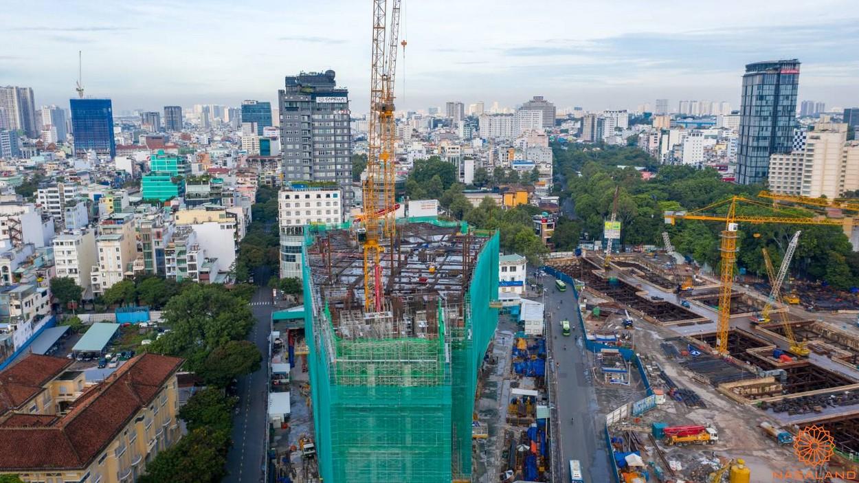 Tiến độ thi công dự án One Central Saigon Quận 1