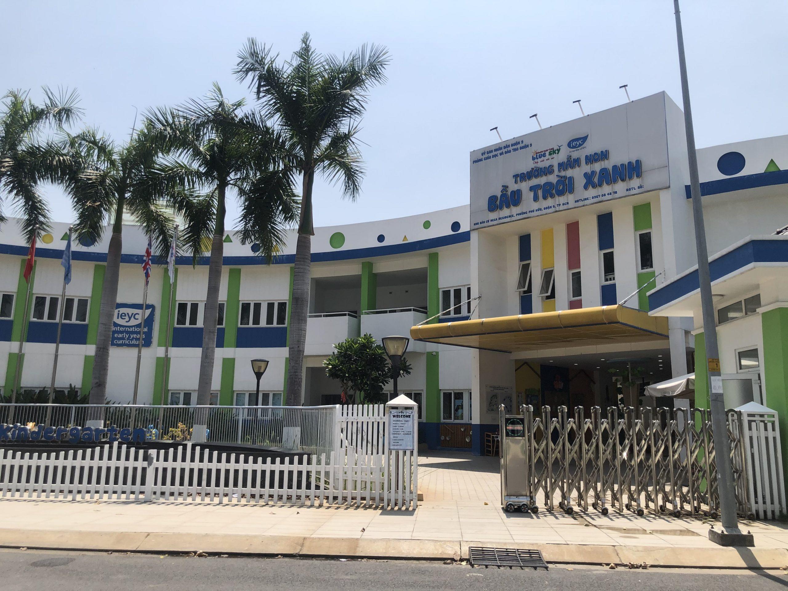 Cập nhật mới nhất trường học bên trong dự án Mega Khang Điền Quận 9. Liên hệ 0812 756 888