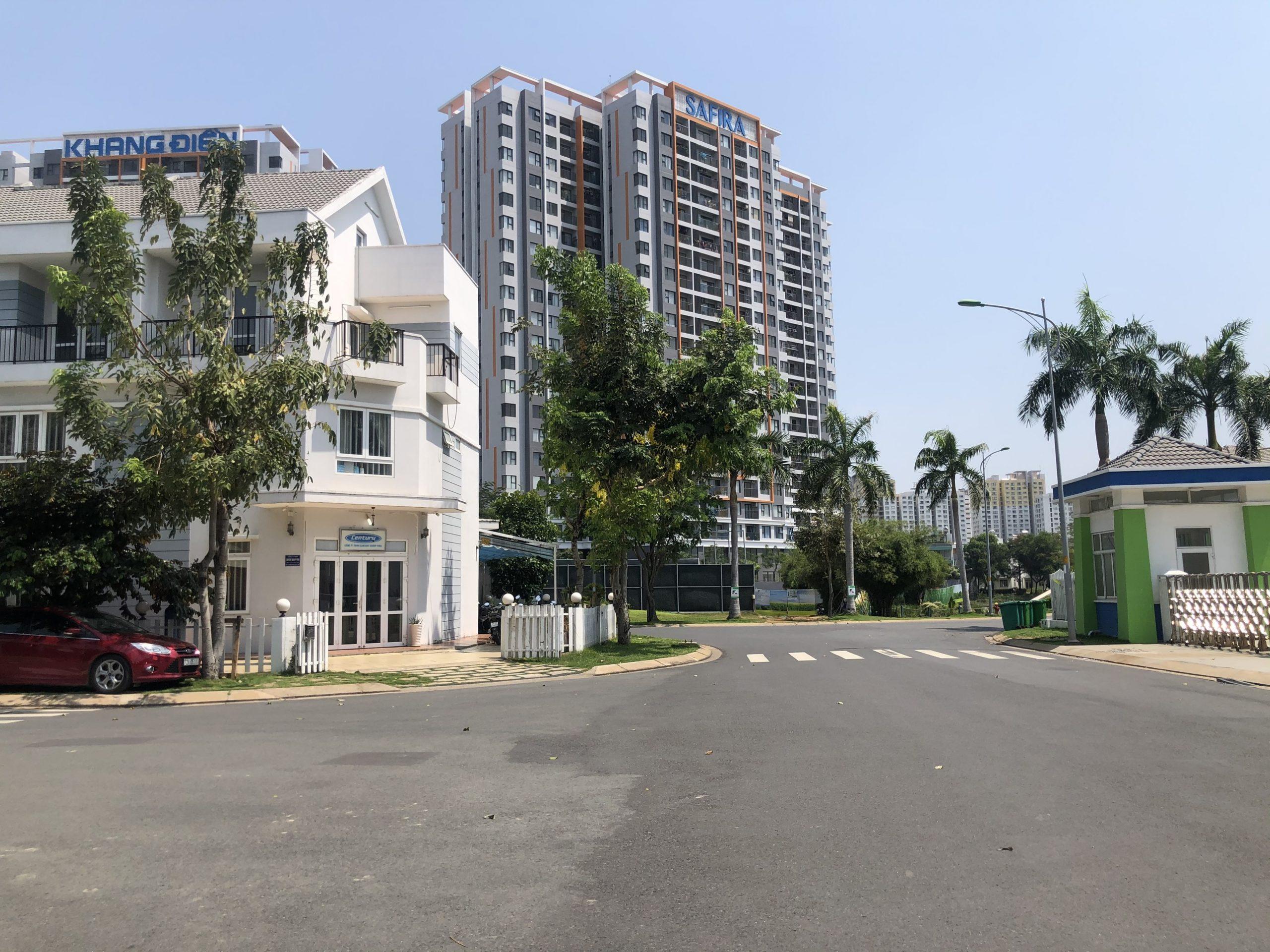 Hình ảnh thực tế cập nhật đầu năm 2021 dự án Mega Residence Khang Điền Quận 9.