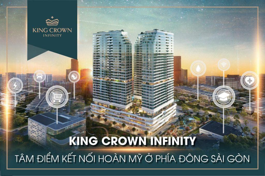 TÂM ĐIỂM KẾT NỐI - KIẾN TẠO PHONG CÁCH SỐNG TƯƠNG LAI TẠI KING CROWN INFINITY