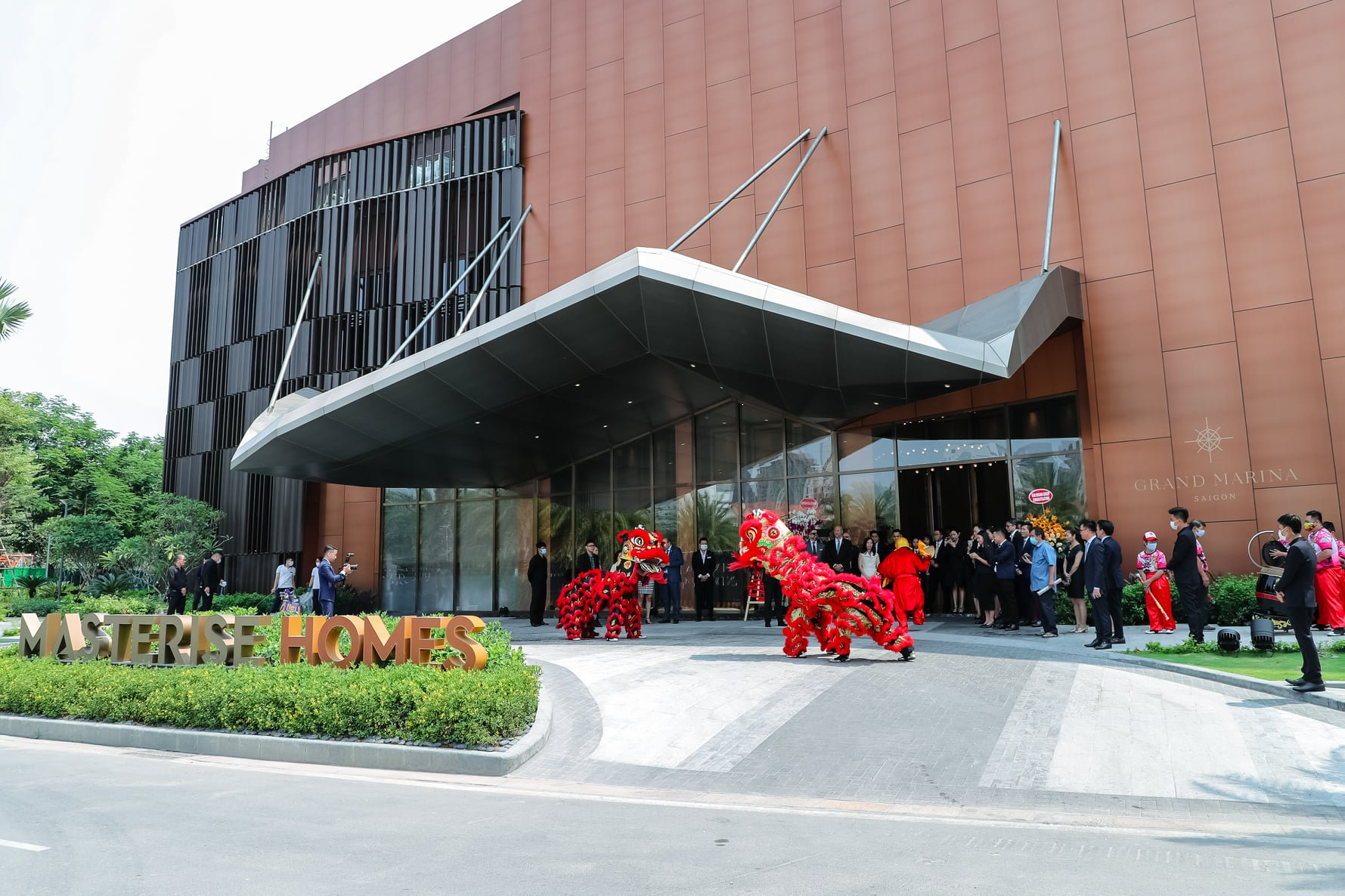 Lễ khai trương ra mặt nhà mẫu dự án Grand Marina Sài Gòn long trọng xứng tầm đẳng cấp