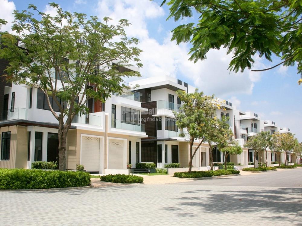 Mẫu nhà thực tế căn biệt thự song lập 10x17,5m dự án Lucasta Villa Khang Điền Quận 9