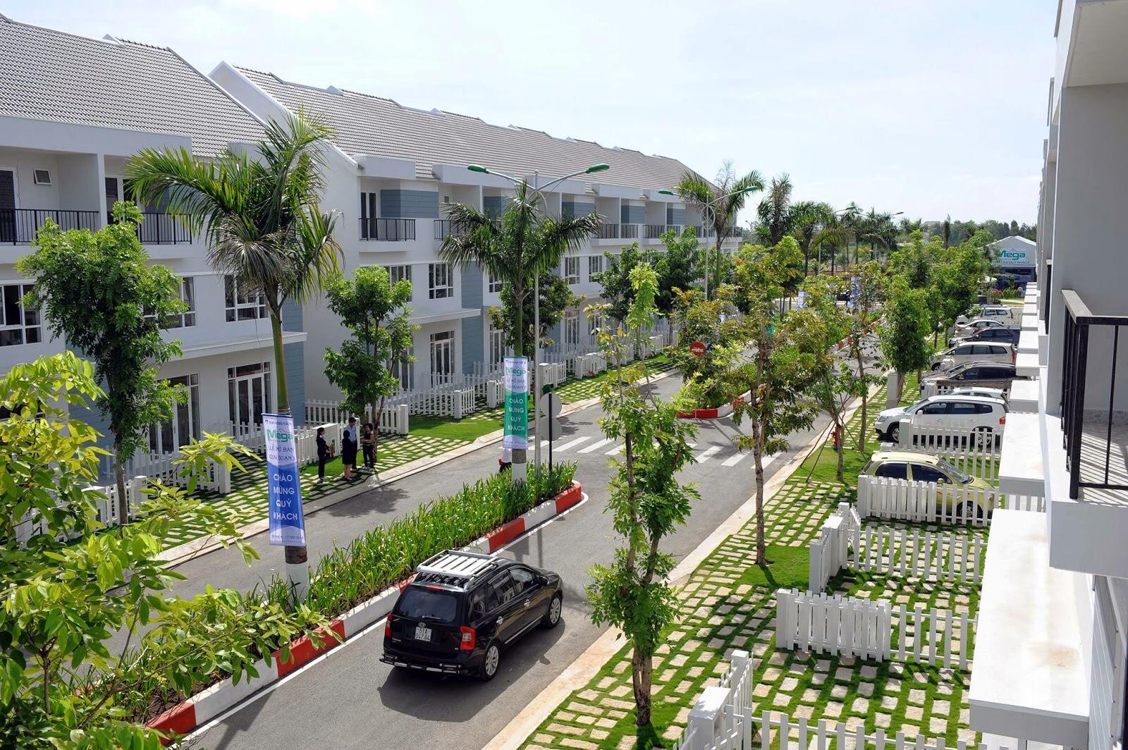 Dự án nhà phố Mega Residence Khang Điền Quận 9