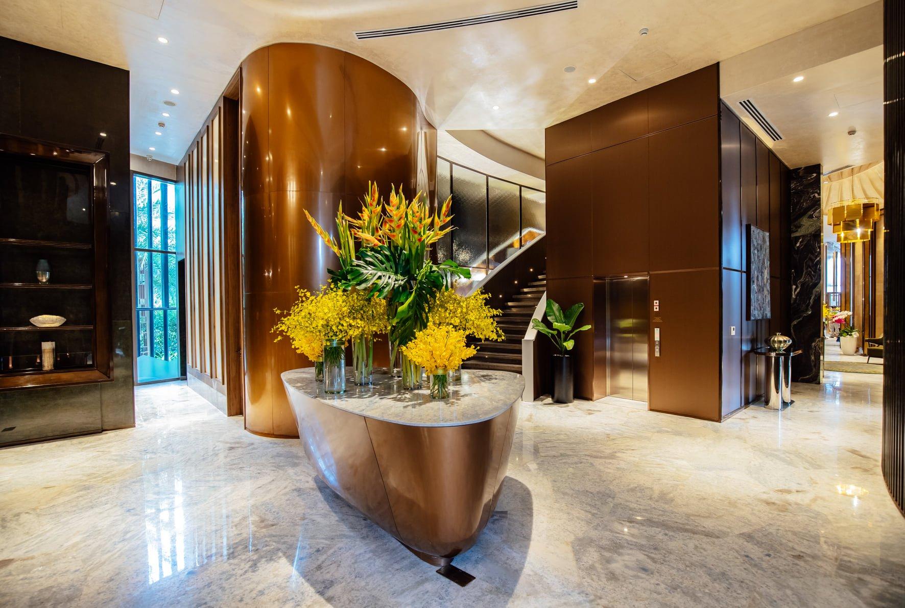 Nhà mẫu dự án Grand Marina Saigon Quận 1 đã bắt đầu đón những vị khách đầu tiên tham quan và trải nghiệm