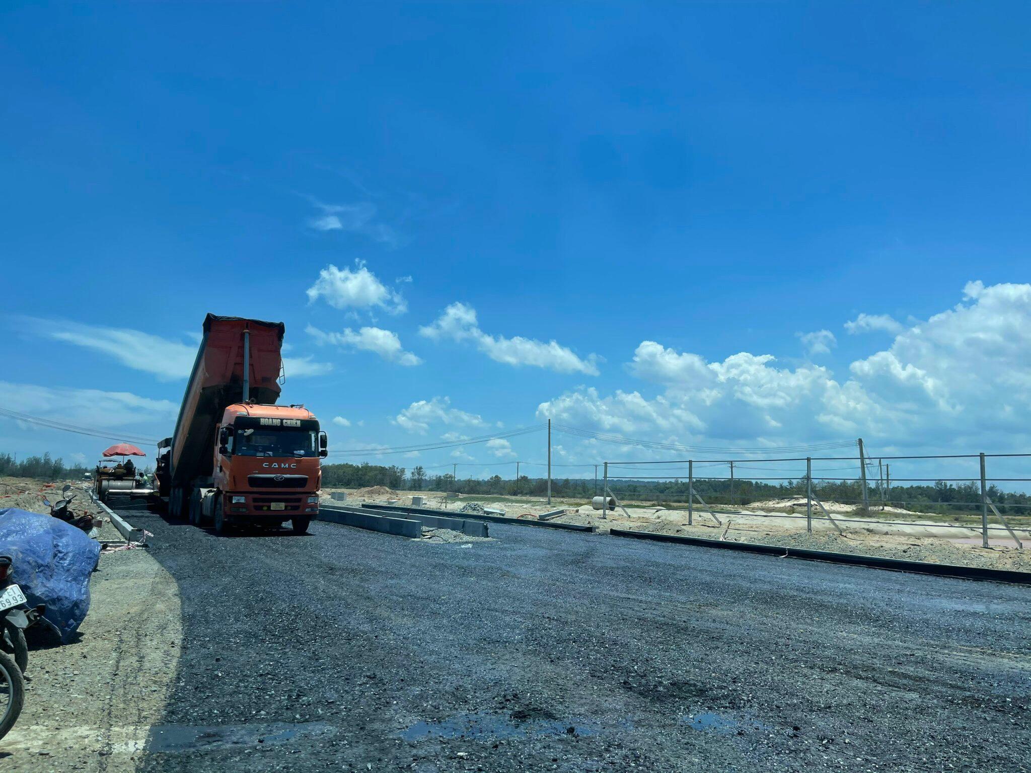 Tiến độ xây dựng dự án Venezia Beach Hồ Tràm được chủ đầu tư gấp rút thi công