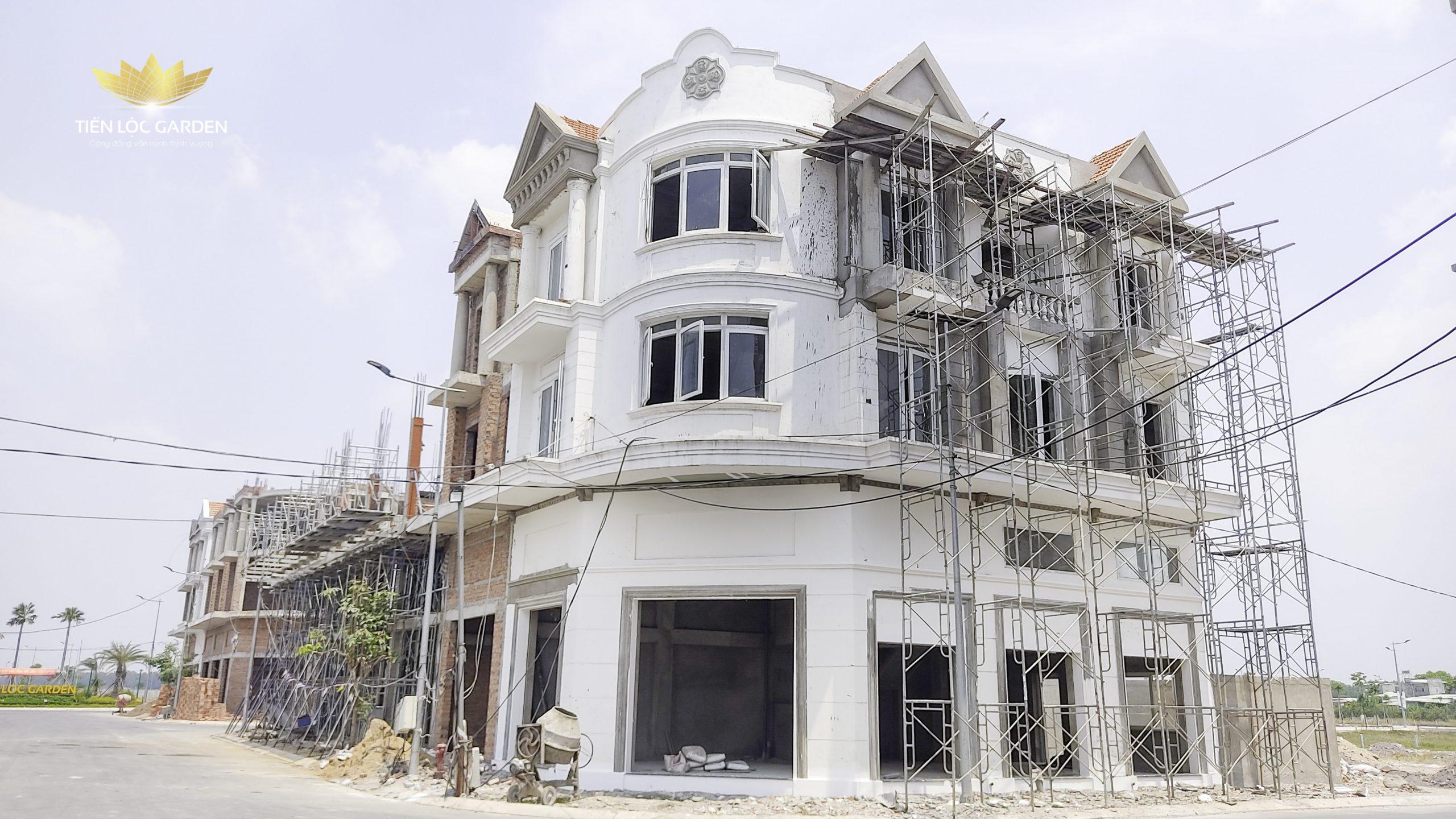 Tiến độ xây dựng Dự án đất nền nhà phố Tiến Lộc Garden Nhơn Trạch Đồng Nai