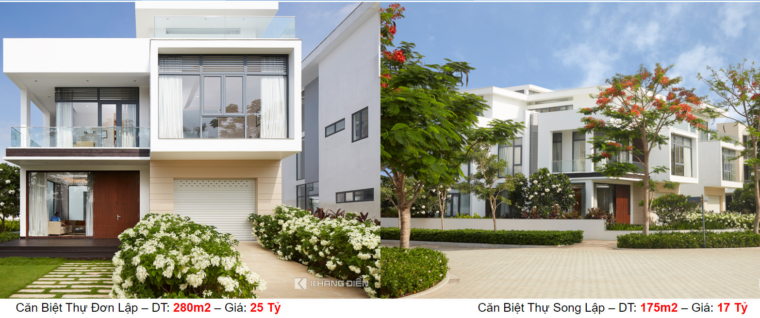 Giá bán dự án Lucasta Villa Khang Điền