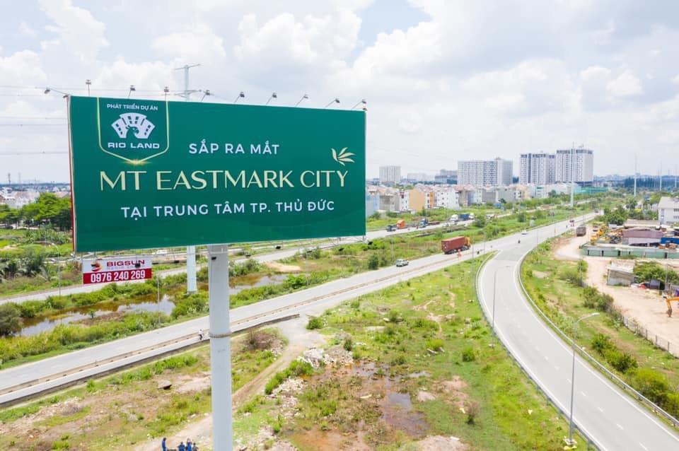 CĐT Điền Phúc Thành đang triển khai Marketing căn hộ MT Eastmark City Quận 9 chuẩn bị mở bán