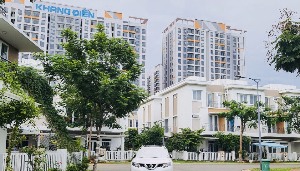 Nhà phố Lovera Park Khang Điền Bình Chánh