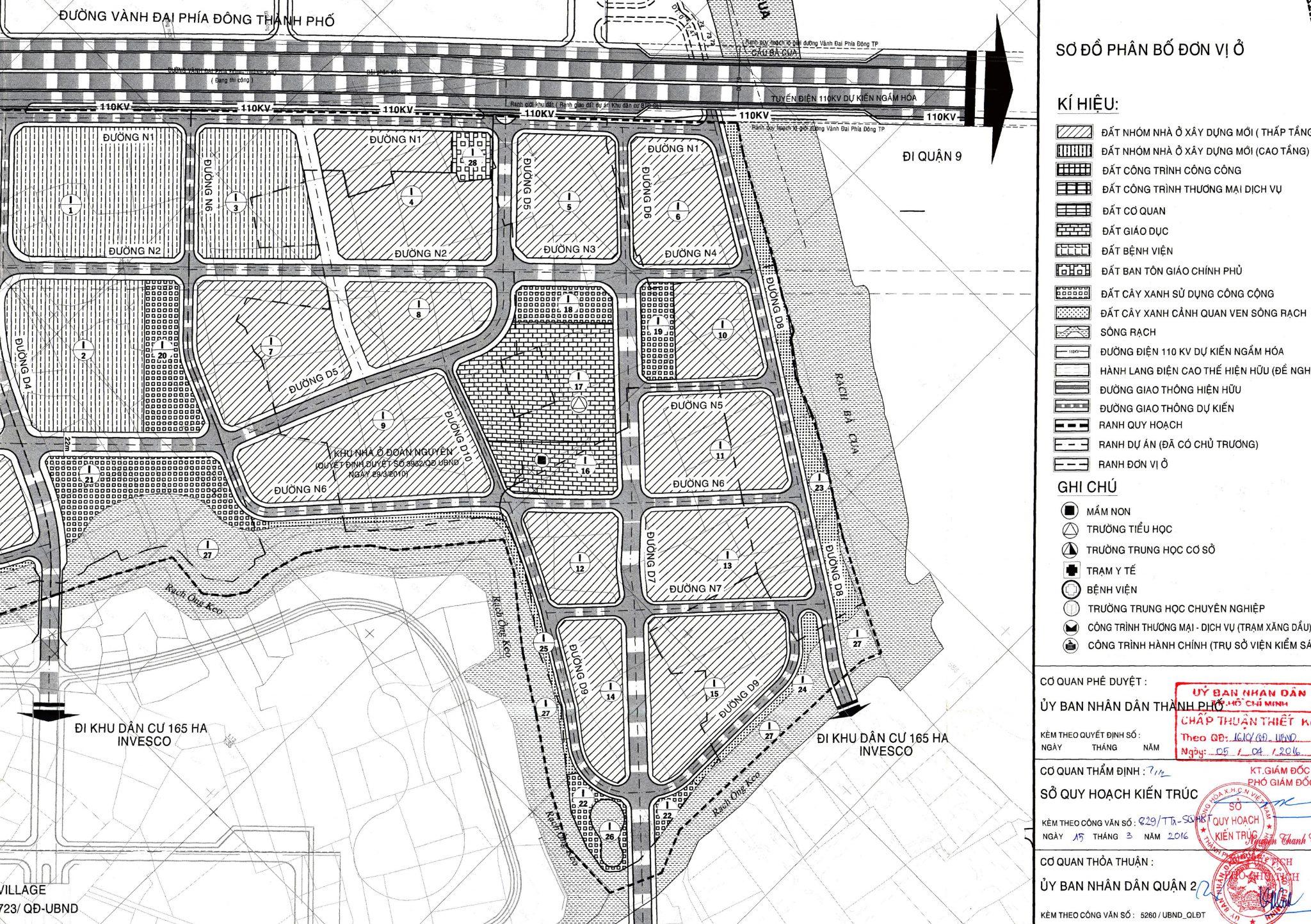 Phân Khu 1 Dự án Khang Điền Quận 2 Clarita