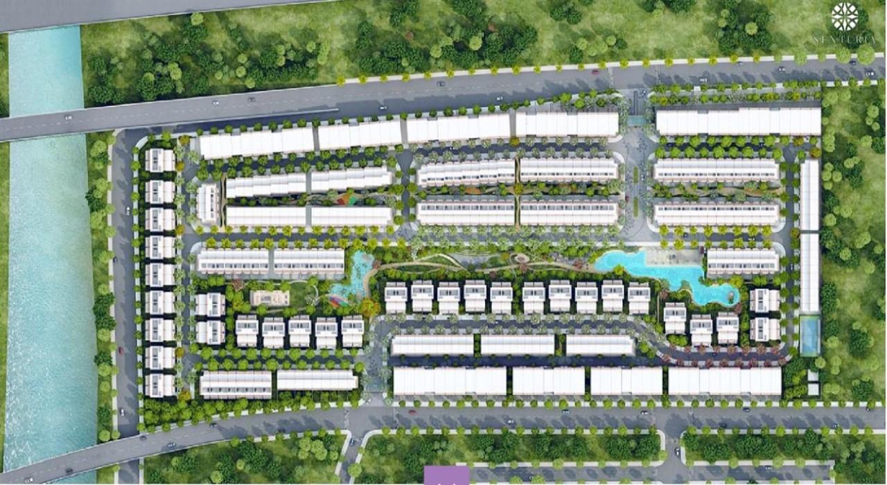 Mặt bằng dự án Senturia An Phú Nam Rạch Chiếc Quận 2 TP Thủ Đức