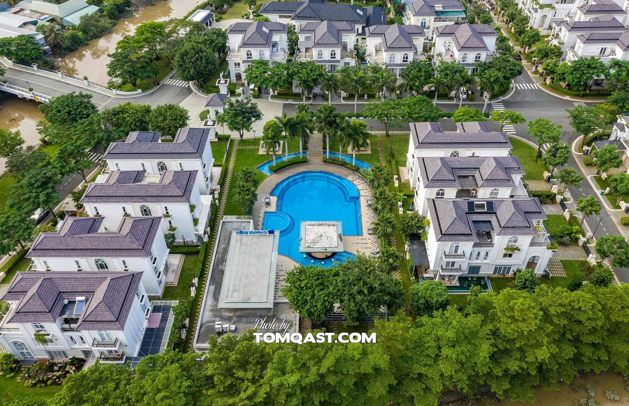 Hình ảnh thực tế dự án biệt thự Venica Khang Điền Quận 9