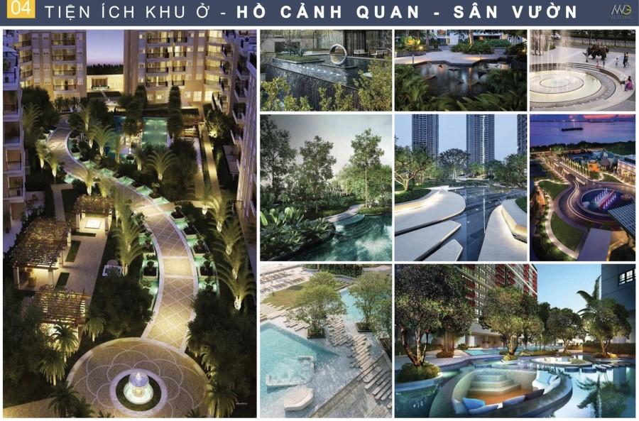 Tiện ích nội khu cảnh quan Moonlight Centre Hưng Thịnh Bình Tân