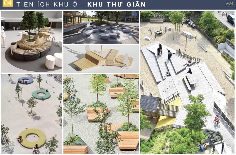 Tiện ích nội khu khu thư giãn Moonlight Centre Bình Tân